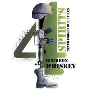 4spirits bourbon whiskey